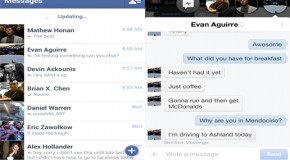 Facebook'ta Yenilik : Facebook Messenger
