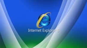 İnternet Explorer 8 Tamamlanmış!