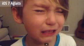 4 Yaşındaki Çocuk iOS 7'yi Beğenmeyince Ağladı