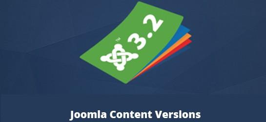 Joomla Content Versions – İçerik Versiyonları