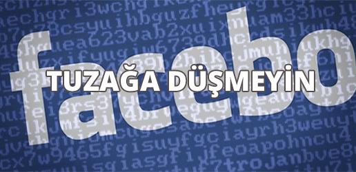 facebook tuzaga dusmeyin - Facebook'ta Genç Kızlara Büyük Tuzak